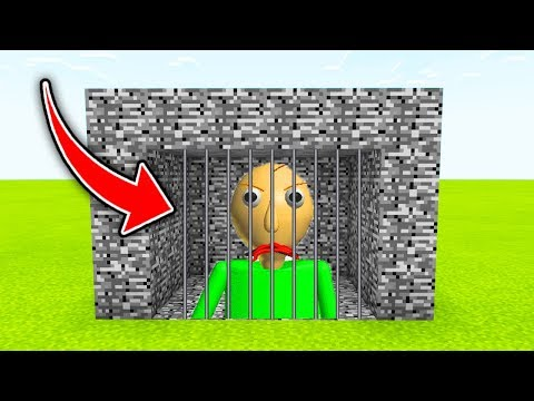 Minecraft : We TRAPPED BALDI! (Ps3/Xbox360/PS4/XboxOne/PE/MCPE)