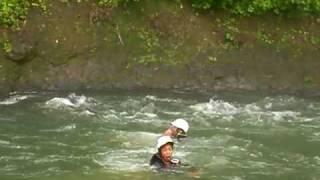 白馬アドベンチャークラブ 水遊び