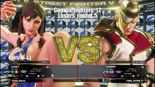Compa fighters 12 (LuisM-X) Chun Li vs (Paul2540) Ed 3 sets