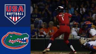 Team USA vs #9 Florida   2020 College Softball Highlights