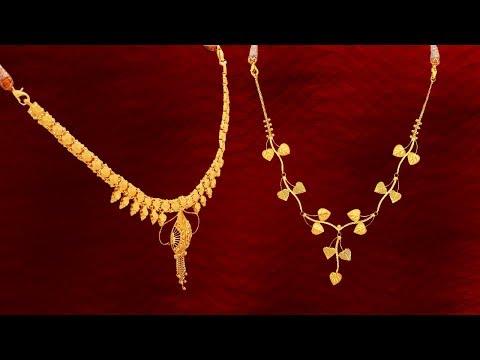 5 Grams Min Gold Necklace Designs