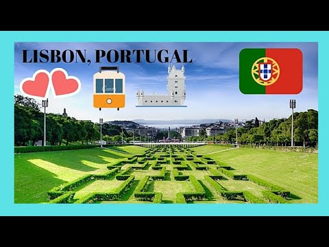 EXPLORING LISBON'S Most BEAUTIFUL BOULEVARD, AVENIDA DA LIBERDADE (PORTUGAL)