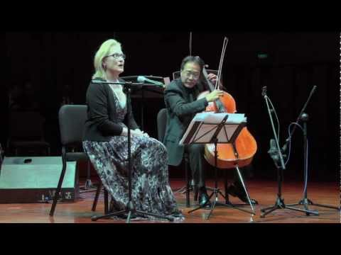 Meryl Streep & Yo-Yo Ma - 2011 US-China Forum - A Musical Dialogue