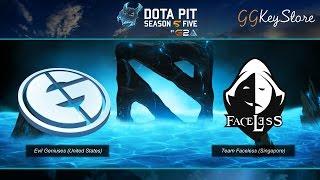DotaPit Season 5 LAN Finals : EG vs Faceless - พากย์ไทย [Thai Caster]
