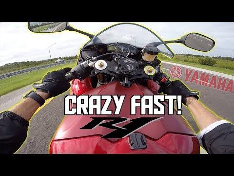 Stunt Geared Yamaha R1 = AWESOMENESS!