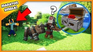 """Minecraft #432 - """"SKRZYNIA SKARBÓW CZ. 2, ATAKUJĄ WIOSKĘ!"""""""