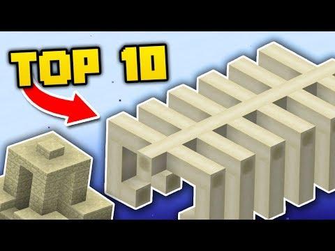 Top 10 Structuri Rare Din Minecraft