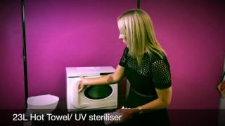 23L Hot Towel / UV Steriliser