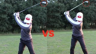 IRON SWING VS DRVER SWING! *THE KEY DIFFERENCE*