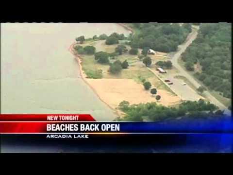 Beaches Back Open At Arcadia Lake