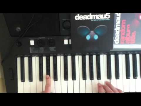Some Chords Deadmau5 Piano Tutorial Part 1 Youtube