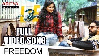 Freedom Full Video Song | Lie Video Songs | Nithiin , Megha Akash | Mani Sharma