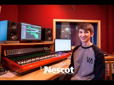 Studying at Nescot: Dan, Level 3 Music Technology