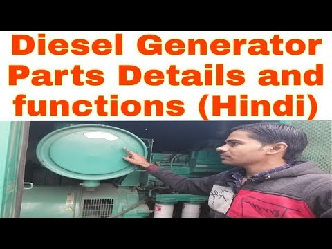 Diesel Generator Parts Details and functions
