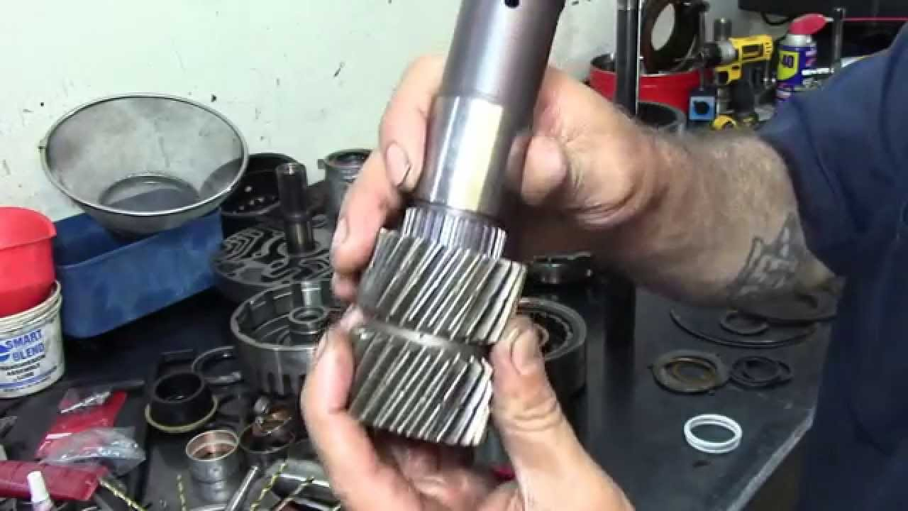 4l80e transmission diagram breakdown gm 4l80 e transmission rebuild transmission repair youtube  gm 4l80 e transmission rebuild