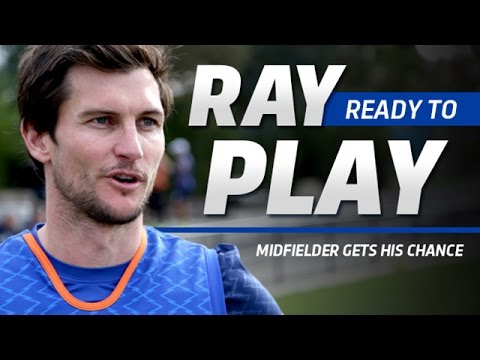 May 19, 2016 - Farren Ray prepares for North debut