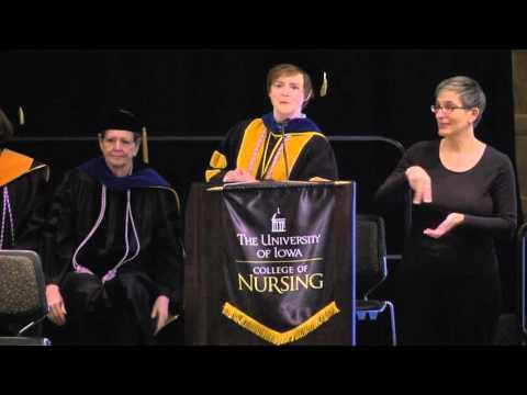 University of Iowa College of Nursing Commencement - December 19, 2015