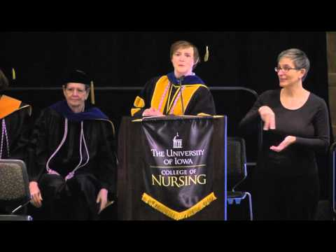 University of Iowa College of Nursing Commencement - December 19, 2015 on YouTube