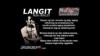 Repeat youtube video Langit - Ron Henley Lyrics