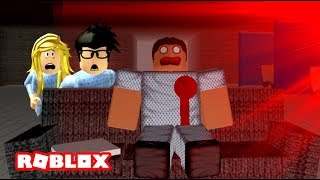NOUS ACCIDENTALLY CAME TO A HAUNTED HOSPITAL! Histoires effrayantes roblox