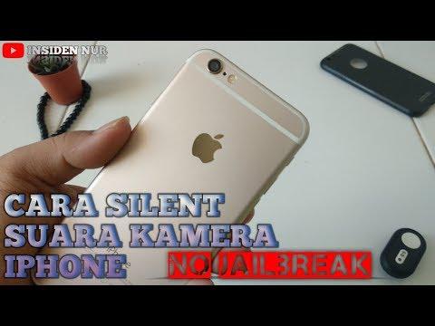 Cara Mensilent Kamera iPhone Jepang Korea Tanpa JailBreak.