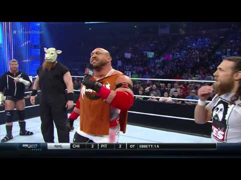 WWE SMACKDOWN 1/22/2015 - 22 January 2015 Part 1 [HD]