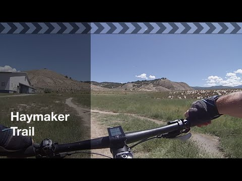 Mountain Bike Eagle: Haymaker Trail