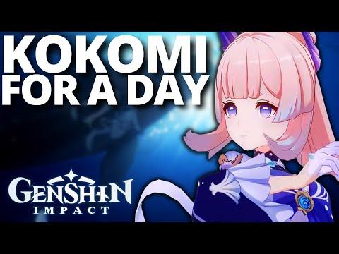 becoming a Kokomi main for a day   Genshin Impact