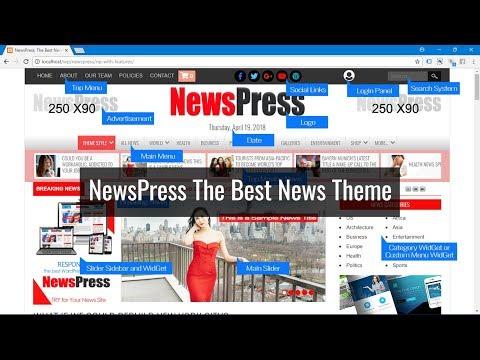 NewsPreess, the Best News Theme for WordPress