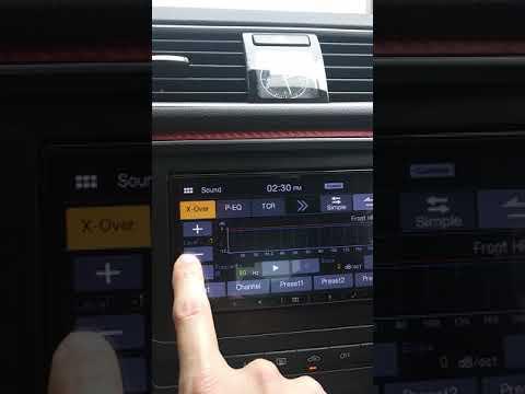Alpine IXL-W650 IXLW650 SOUND CUSTOMIZATION