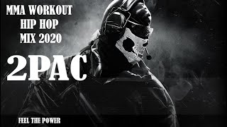 Aggressive Workout Hip Hop Mix 2020 - 2Pac - Rap - MMA Music Remix - Motivation Mix - Trap Mix