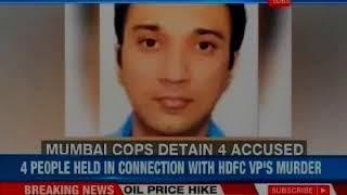 HDFC Vice President Siddharth Sanghvi missing: Mumbai police detains 4 suspects