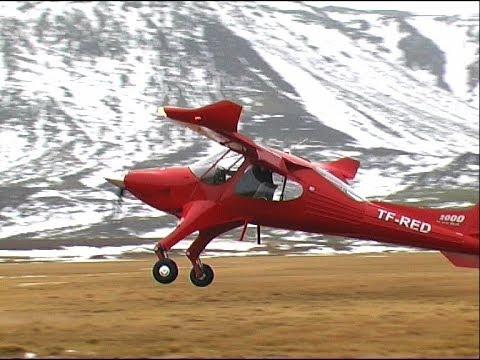 The Red PZL Wilga Draco in 2009!