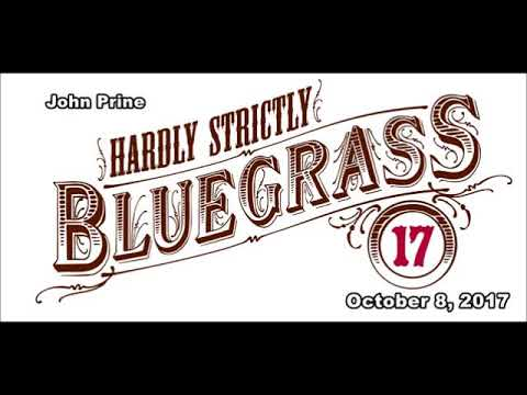 John Prine Hardly Strictly Bluegrass Festival San Francisco, California October 8, 2017