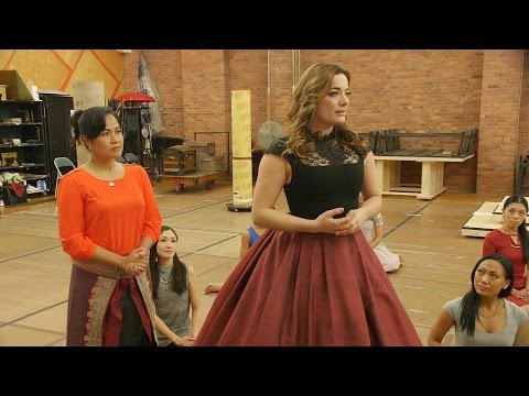 Watch Laura Michelle Kelly and Jose Llana in Rehearsal for The King and I