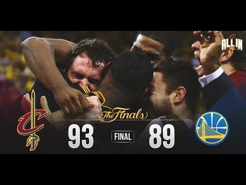 Cleveland Cavaliers Win First NBA Championship!