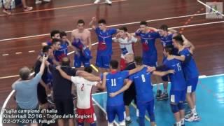 02-07-2016: Puglia campione d'Italia al Trofeo delle Regioni - Kinderiadi 2016
