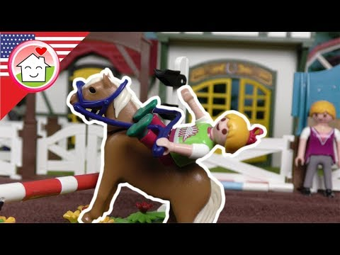 Playmobil english Mega Pack – Horses and the Stables - The Hauser Family