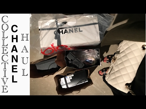 CHANEL Spring 2017 COLLECTIVE HAUL: Boy Bag, Deauville, Mules, etc.