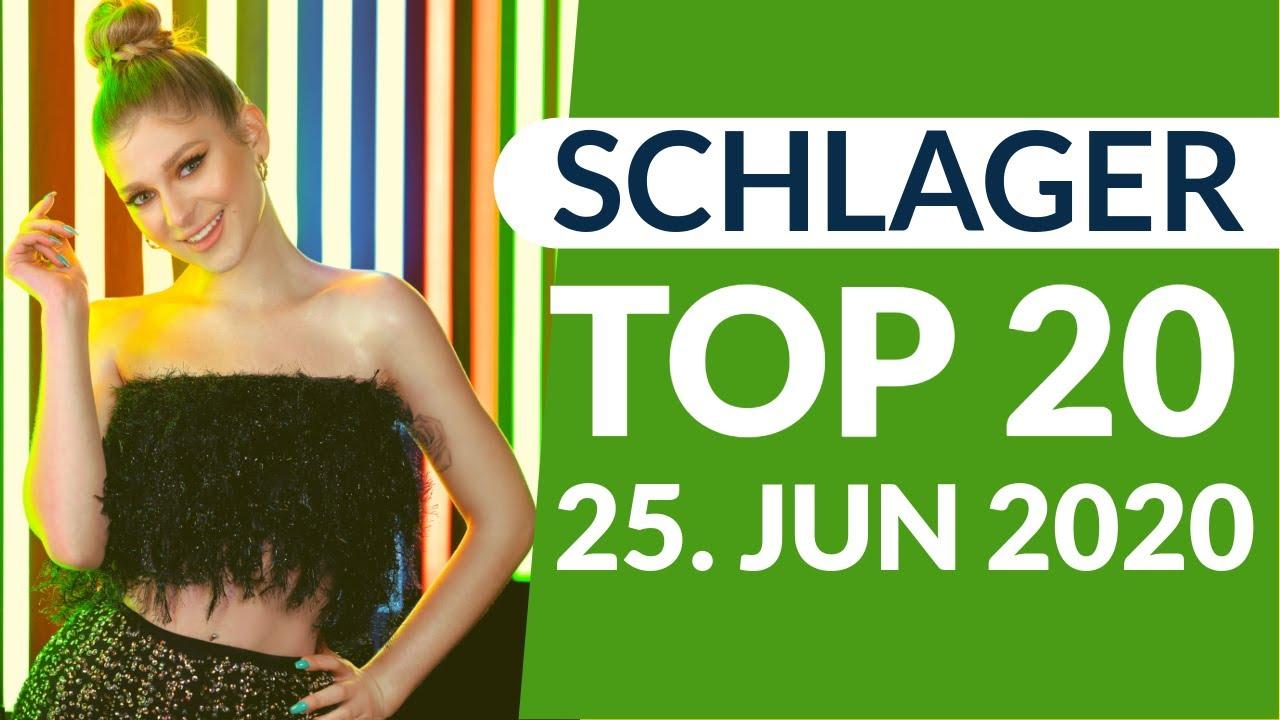 SCHLAGER CHARTS 2020 - Die TOP 20 vom 25. Juni