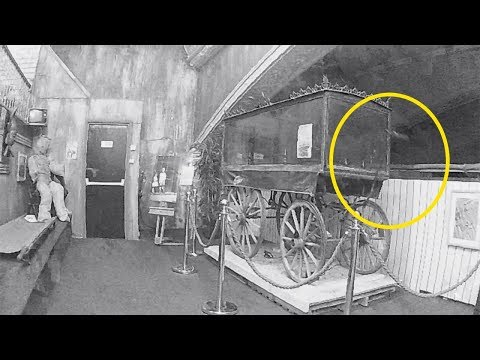 Stranger Zone - Ghost Appears To Lift Handle Of Haunted Hearse
