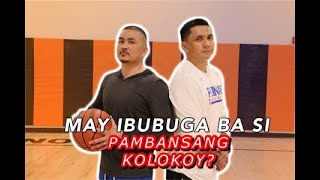 ONE ON ONE BASKETBALL GAME NI PK VERSUS JIMMY ALAPAG!!