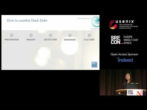 SREcon18 Europe - Dealing with Dark Debt: Lessons Learnt at Goldman Sachs