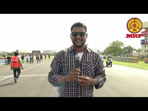 MRF MMSC fmsci Indian National Motorcycle Racing Championship 2017   round 2   SS Indian 300 400CC R