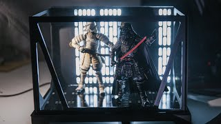 Star Wars Death Star Corridor Figure Diorama!