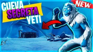 🔎 SECRET PLACE *YETI* Season 7 of Fortnite 🔍