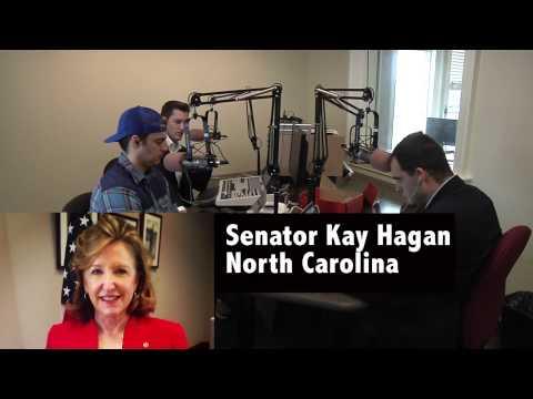 Senator Kay Hagan interview