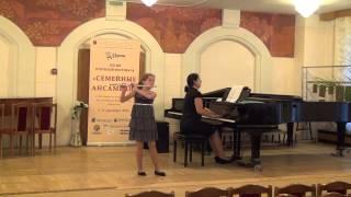 Lisa Lenkina  Joachim Andersen  Scherzino op  55 n  6