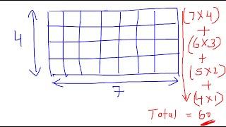 Aptitude shortcut trick to count number of squares puzzle | Team MAST