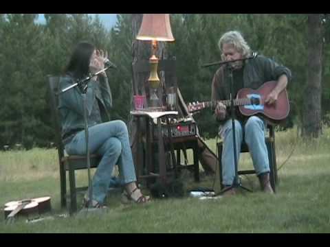 "Sam Baker and Monica Taylor sing ""Juarez."""
